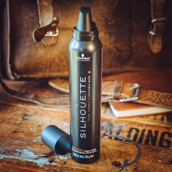 Schwarzkopf - silhouette invisible hold mousse